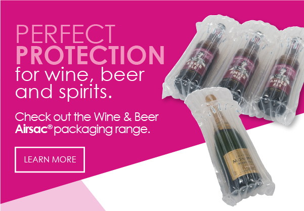 Airsac inflatable wine packaging