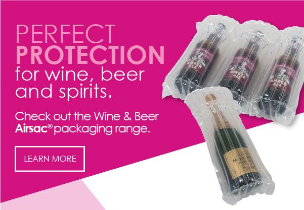 Airsac inflatable wine packaging