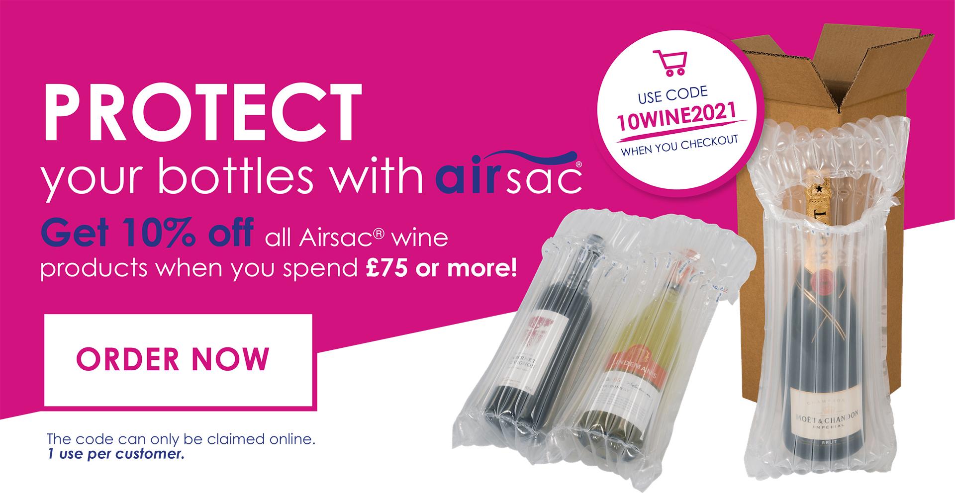 Airsac Wine Discount June 2021