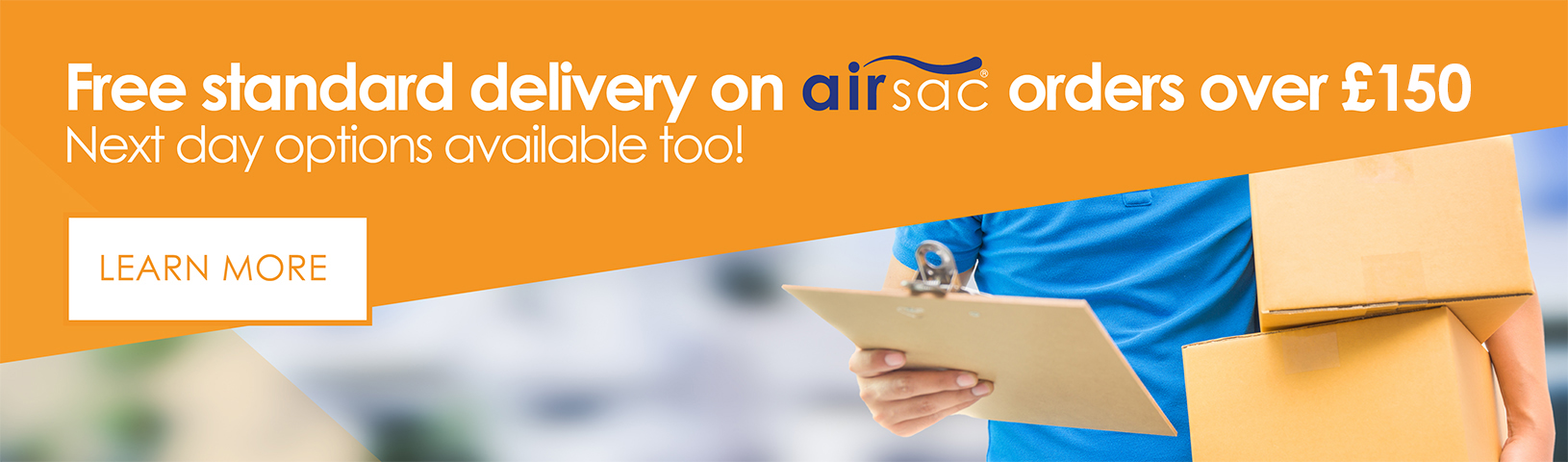 Airsac delivery options